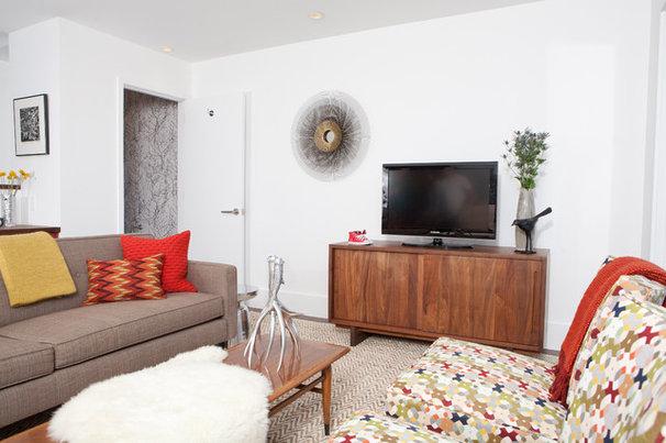 Midcentury Living Room by Regan Baker Design