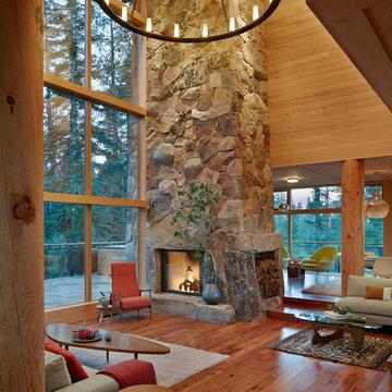 Modern Rustic Sugar Bowl House
