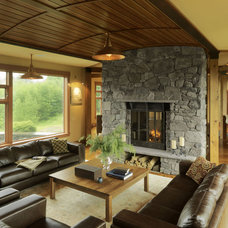 Contemporary Living Room by Cushman Design Group