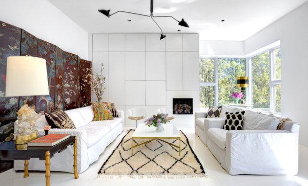 Contemporain Salon by Leslie Glazier @ Properties