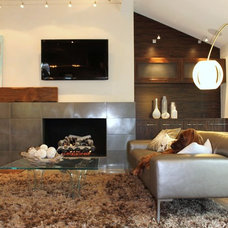 Modern Living Room by Karen Radtke Interior Design