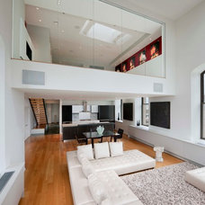 Modern Living Room by Orion General Contractors