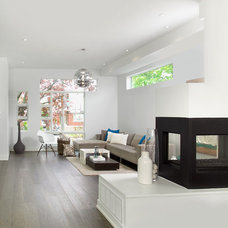 Modern Living Room by Arnal Photography