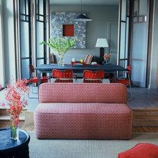 Modern Living Room by White Webb