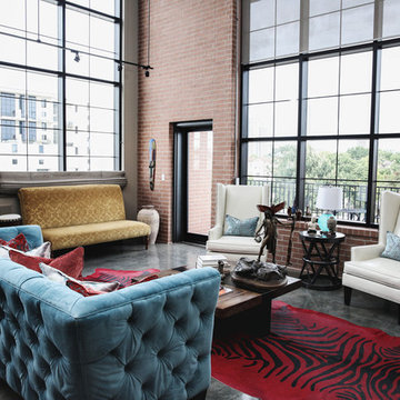 Modern Urban Loft (Designed by Estrada interior design)