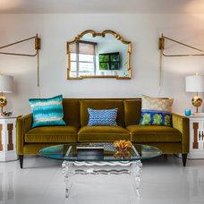 Contemporary Living Room by Lourdes Gabriela Interiors