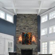 Traditional Living Room by Melissa Blackwood, LLC