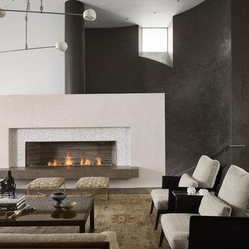 Modern Villa - Living Room