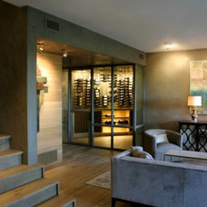 Contemporary Living Room by Risinger Homes