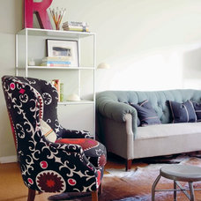 Eclectic Living Room by Emily Chalmers | Caravan Style