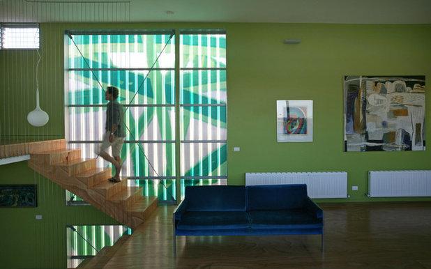 Contemporáneo Salón by Lunchbox Architect