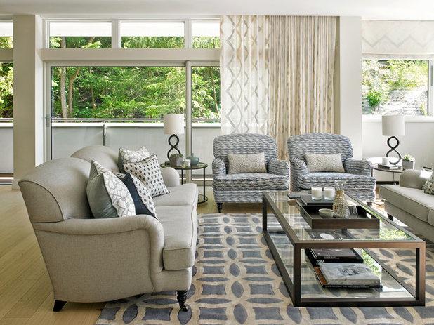Best Transitional Living Room by Susan Venn Design