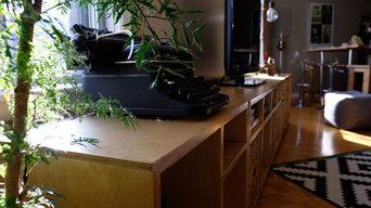 Modular TV Stand and coffee table