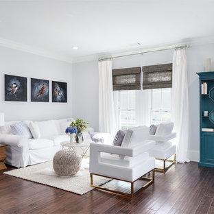 Dark Floor And Light Walls Living Room Ideas Amp Photos Houzz