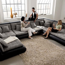 Contemporary Sectional Sofas by IQmatics