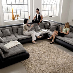 Mona Modular Sectional - Mona - Large Modular Sectional in Various configurations.  Made in EU.