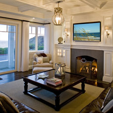 Beach Style Living Room by Monarch Development and Design