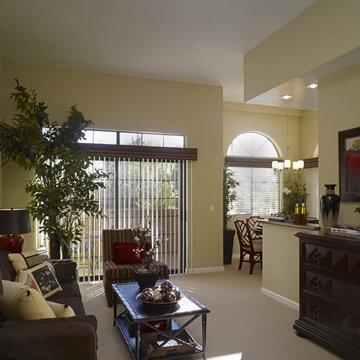 Monarch Village- Living Room
