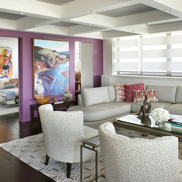 MONMOUTH BEACH CONDO LIVING ROOM-AFTER