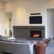 Modern Living Room by COASTROAD Hearth & Patio