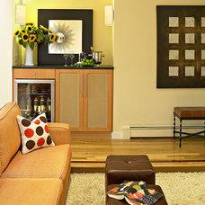 Contemporary Living Room by Kitchens & Baths, Linda Burkhardt