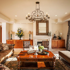 Traditional Living Room by Muro Designs