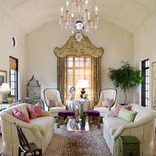Mediterranean Living Room by Ornamentations Design