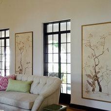 Mediterranean Living Room by Ornamentations Design