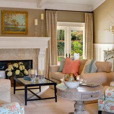 Beach Style Living Room by Debra Lynn Henno Design