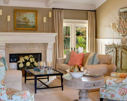 Transitional Living Room Houzz