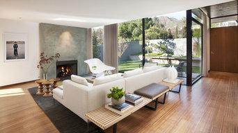 Montecito Mid-Century Living Room