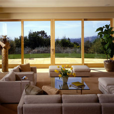 modern living room by Leonard Unander Associates, Inc.