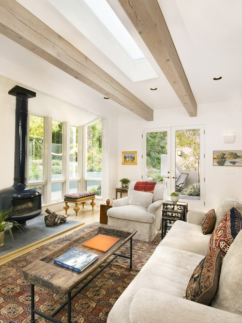 Stained Beams Home Design Ideas Pictures Remodel And Decor