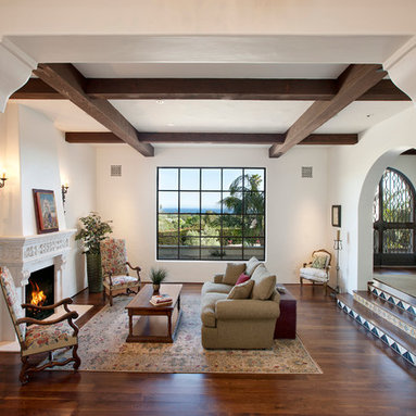Tudor Style Living Room Design Ideas, Pictures, Remodel ...