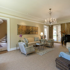 Mediterranean Living Room by V Fine Homes