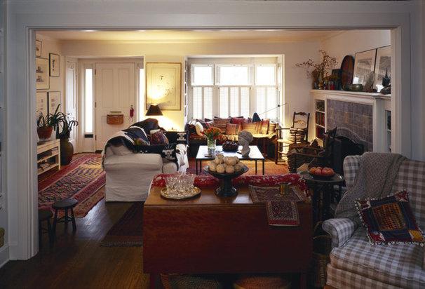 Craftsman Living Room by Bosworth Hoedemaker