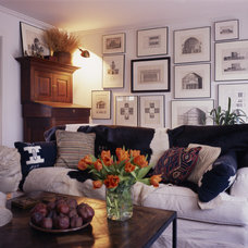 craftsman living room by Bosworth Hoedemaker