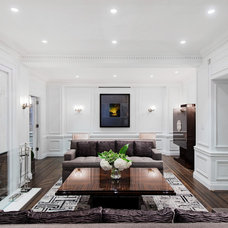 Contemporary Living Room by Britto Charette LLC - NYC Interiors