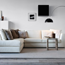 Contemporary Family Room by IQmatics
