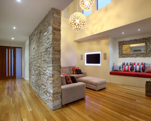 Stone Feature Wall Ideas Pictures Remodel And Decor