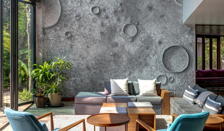 Goa Houzz: A Home Inspired by Lunar Landscapes