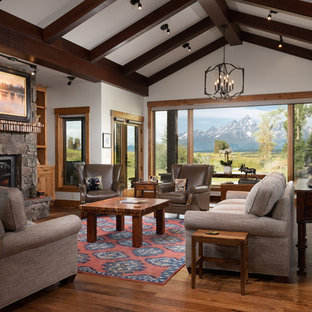 75 Most Popular Rustic Living Room Design Ideas for 2019 ...