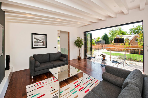 Contemporary Living Room by Cutter & Barr