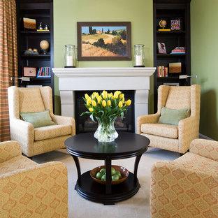 Furniture Arrangement Around Fireplace | Houzz