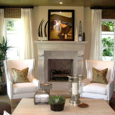 Mediterranean Living Room by D for Design