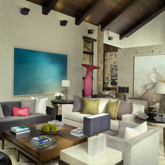 modern living room by Slifer Designs
