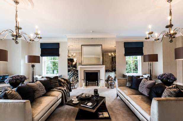 Traditional Living Room by Concept Interiors