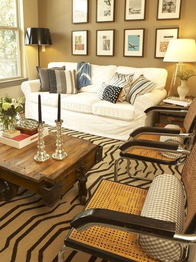 Eclectic Living Room Morningside Living Room