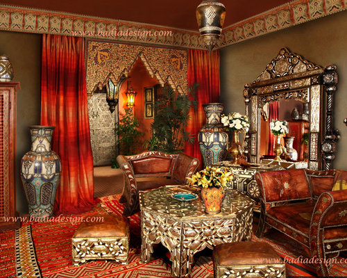 Moroccan furniture houzz Moroccan inspired kitchen design