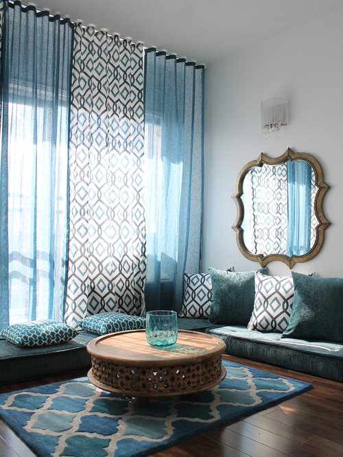 Moroccan inspired rooms home design ideas pictures - Moroccan themed living room ...